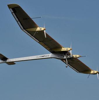 Solar Impulse has taken to the skies for test flights (AP)