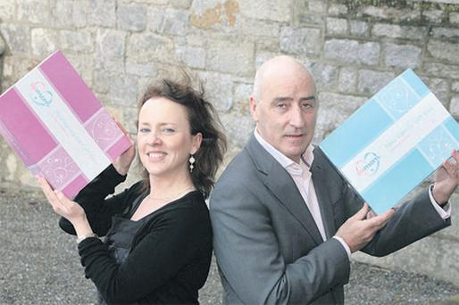 Jim Kelleher, founder & CEO of Eumom, and Rose Kervick, newly-appointed managing director of Eumom Ireland. The firm rode out the difficult post-dotcom boom conditions and is now looking to expand its business