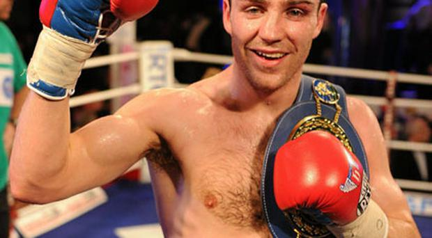 Matthew Macklin has been forced to rest up due to an unexpected nose injury.