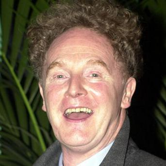 Malcolm McLaren at the NME Awards at the Mermaid Theatre in Central London.