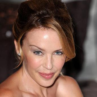 Kylie Minogue has said she is a fan of Glee