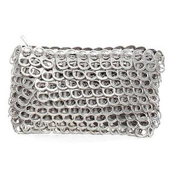 Bottletop clutch bag