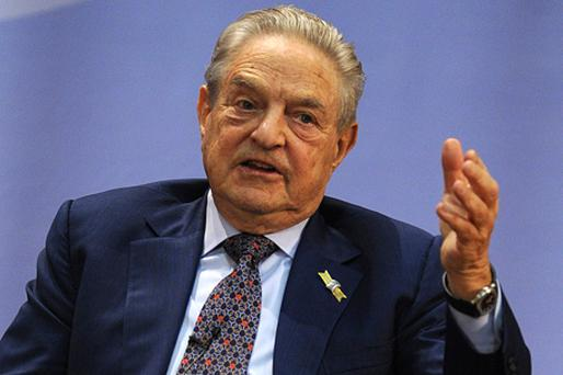 George Soros said the next UK government should decide whether to allow a further devaluation of the pound. Photo: Getty Images