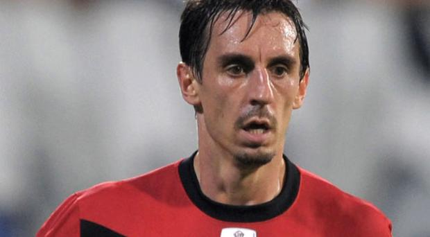 Gary Neville wants his Manchester United colleagues to focus on their remaining Premier League games. Photo: Getty Images