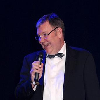 Clive Tyldesley is among those involved in the song