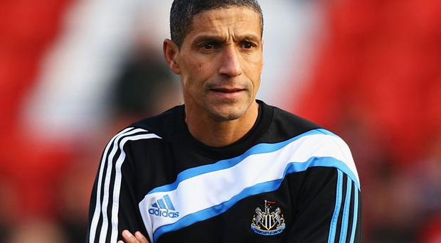 Chris Hughton could all but clinch the Championship title for Newcastle with victory tonight. Photo: Getty Images