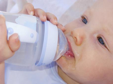 Bisphenol A is used in the manufacture of plastic baby bottles