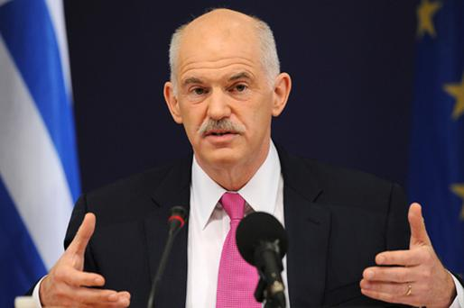 Greek Prime Minister George Papandreou needs to raise €11.6bn by the end of May to cover maturing debt. Photo: Getty Images