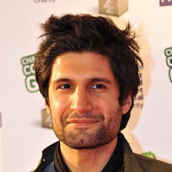 Kayvan Novak jumped at the chance to work with Chris Morris