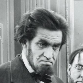 Francis Ford plays Abraham Lincoln in a 1913 film