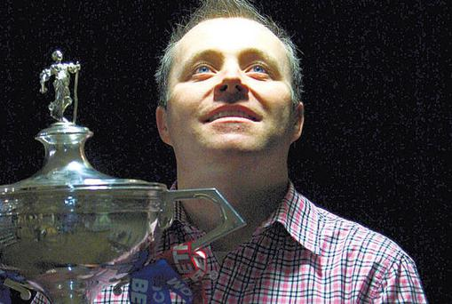 John Higgins insists 'there is nowhere else quite like the Crucible for atmosphere'.