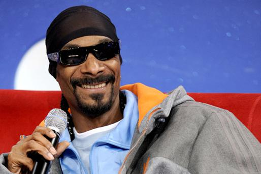 Controversial US rapper Snoop Dogg will play at this year's Glastonbury festival. Photo Getty Images