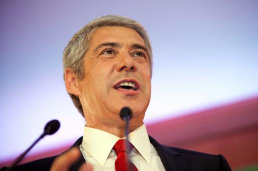 Portuguese Prime Minister Jose Socrates. Photo: Bloomberg News