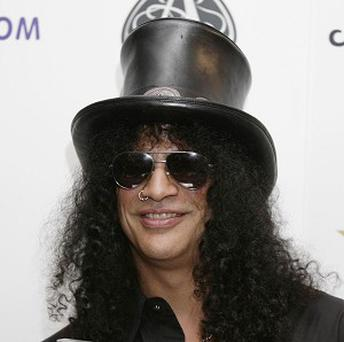 Slash has penned a track for Fergie of the Black Eyed Peas