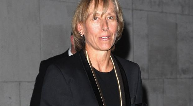 Martina Navratilova. Photo: Getty Images