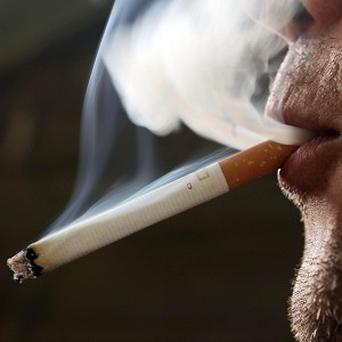 Cigarette smoking is costing the Government 556m euro in lost taxes