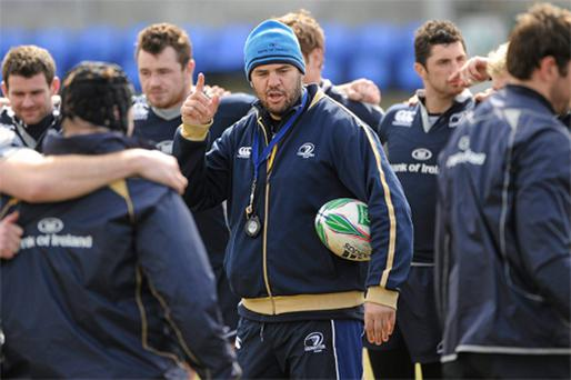 Leinster coach Michael Cheika has named a strong team to face Ospreys