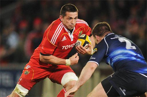 Munster flanker Alan Quinlan. Photo: Sportsfile