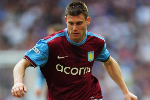 James Milner of Aston Villa. Photo: Getty Images