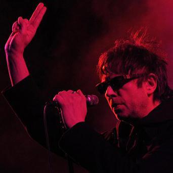 Echo and the Bunnymen managed to perform at the Coachella Valley Festival