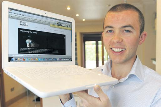 Going solo: Stephen O'Leary who set up O'Leary Analytics