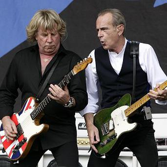Status Quo face a long journey home after being stranded in Moscow