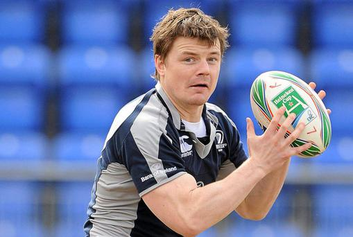 Leinster star Brian O'Driscoll returns to the starting line-up to face Connacht in their Magners League encounter tomorrow night.