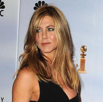 Jennifer Aniston has been voted the top screen siren