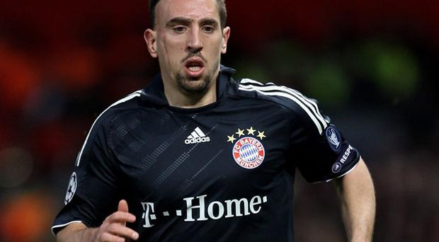 Franck Ribery. Photo: Getty Images