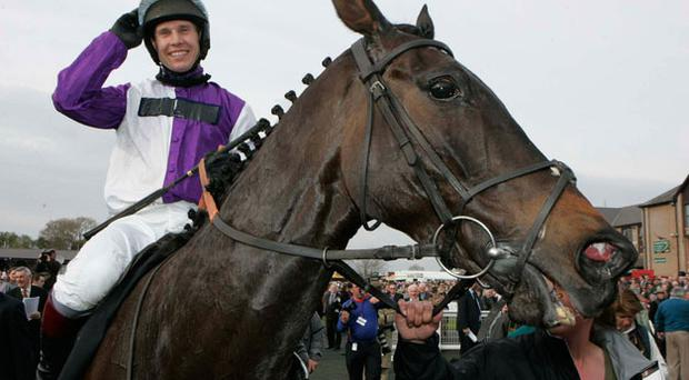 Planet of Sound ridden by Richard Johnson winner of the Gold Cup yesterday. Photo: Getty Images