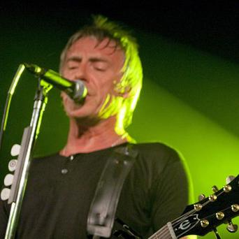Paul Weller was joined on stage by Noel Gallagher