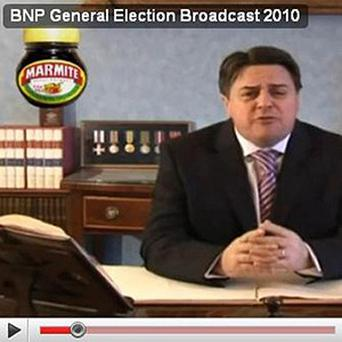 Marmite are taking legal action after being featured in a BNP video