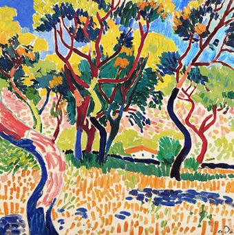 A Derain, among art which lay in a vault for 40 years
