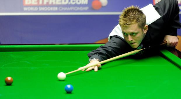Mark Allen: just one short of a maximum 147 yesterday.