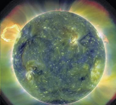 NASA has unveiled the first images from the new satellite designed to predict disruptive solar storms