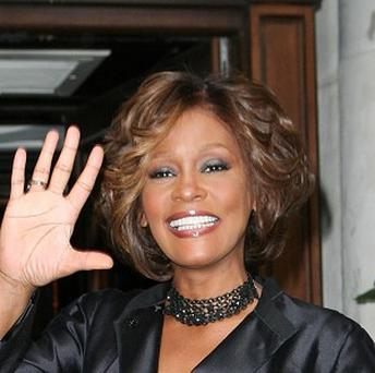Whitney Houston took to the waves again to leave Ireland
