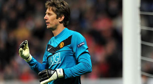 Edwin Van der Sar. Photo: Getty Images