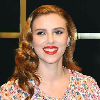Scarlett Johansson shaped up to fit into her Iron Man 2 costume
