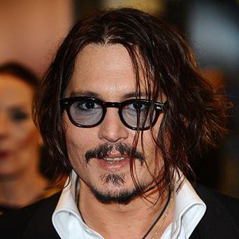 Johnny Depp is reportedly going on tour with Babybird
