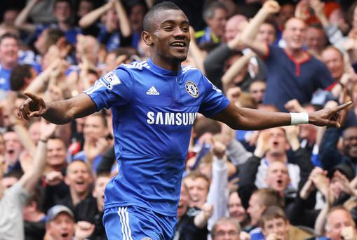 Salomon Kalou scored a hat-trick for Chelsea. Photo: Getty Images