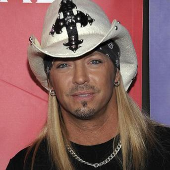 Singer Bret Michaels has had a brain haemorrhage (AP)