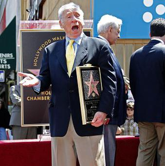 Mel Brooks has a new star on the Hollywood Walk of Fame in Los Angeles