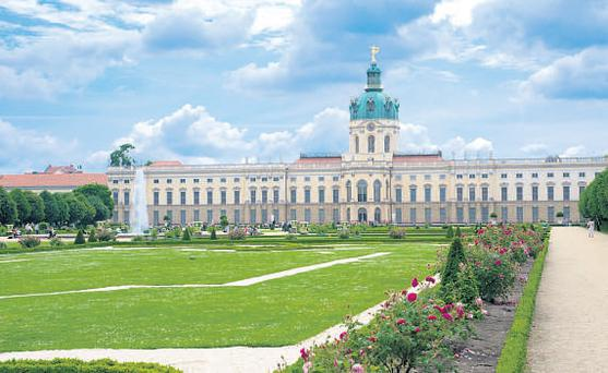 Belvedere castle, commissioned by Wilhelm IV, sits at Potsdam's highest point on Pfingstberg