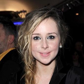 Diana Vickers has hit the top of the singles chart