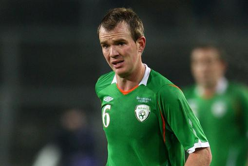 Glenn Whelan was involved in a dressing-room bust-up with Abdoulaye Faye. Photo: Getty Images