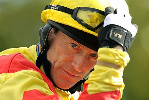 Kieren Fallon can renew his association with O'Brien aboard Viscount Nelson. Photo: Getty Images