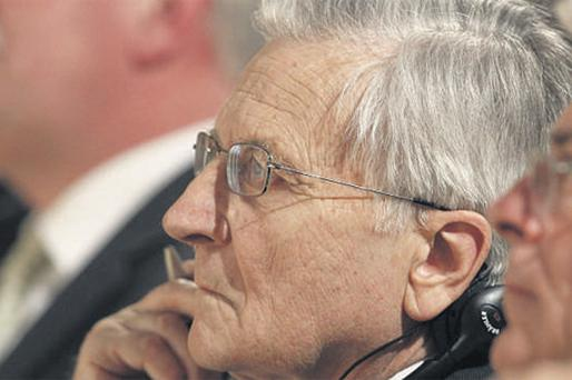 President of the European Central Bank Jean-Claude Trichet took part in the 9th Munich Economic Summit, an international policy forum, in Munich, Germany, yesterday against the background of concerted efforts to solve the Greek crisis