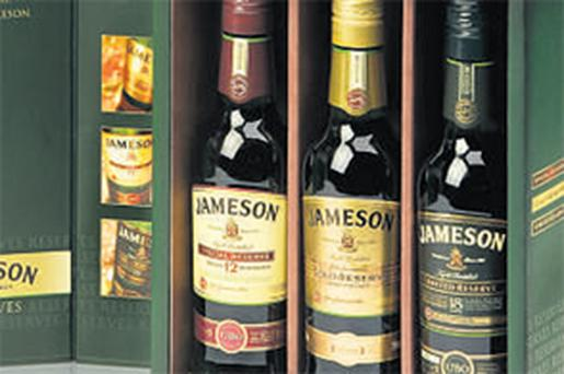 Jameson, one of Pernod Ricard's 15 strategic brands, performed strongly during the last quarter with the value of sales of the whiskey rising 11pc
