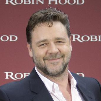 Russell Crowe said there won't be cliches in Robin Hood