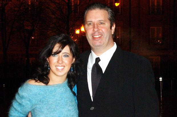 Gerry Ryan pictured recently with his daughter. Photo: Getty Images